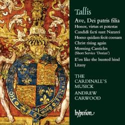 Ave, Dei patris filia by Tallis ;   The Cardinall's Musick ,   Andrew Carwood