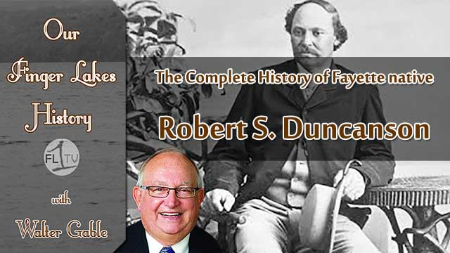 OUR FINGER LAKES HISTORY: Fayette native Robert S. Duncanson (podcast)
