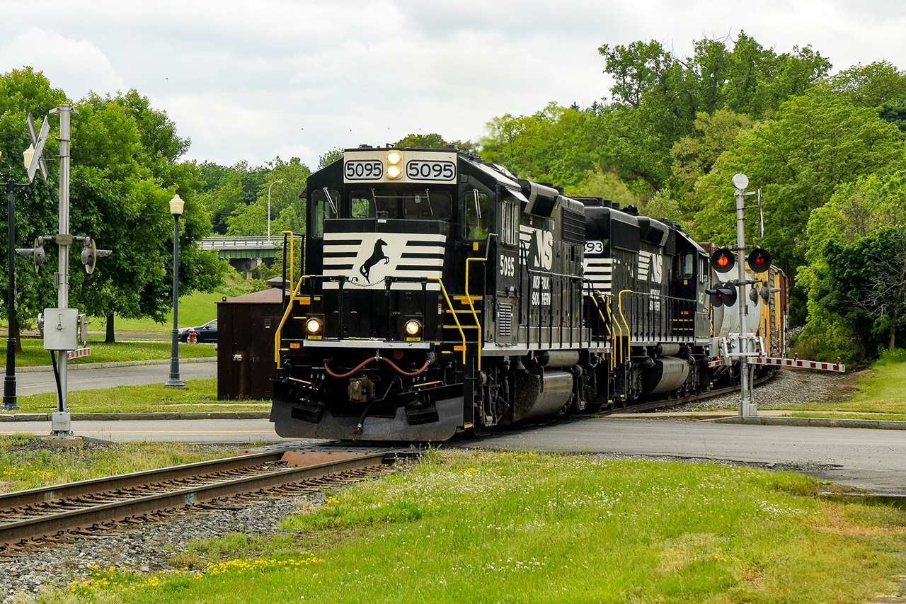 Norfolk Southern Railway in Ontario County (photo)