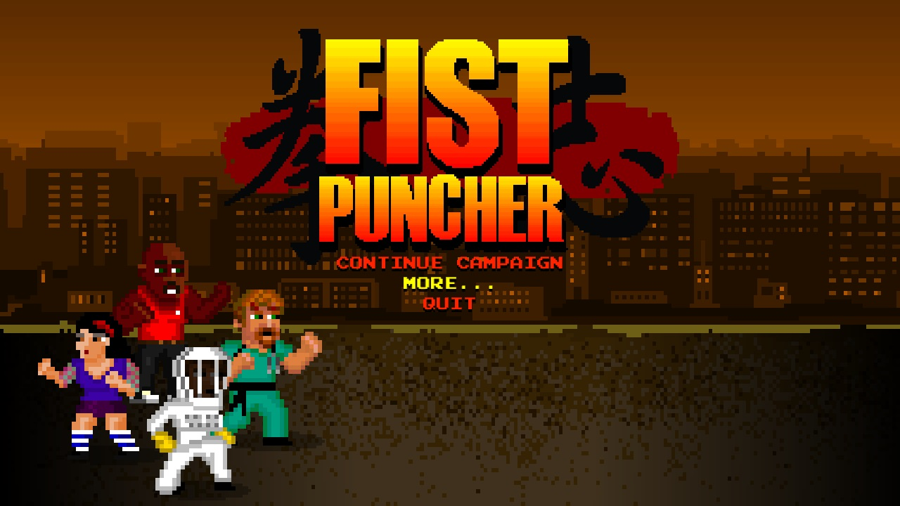 Screenshot of Fist Puncher