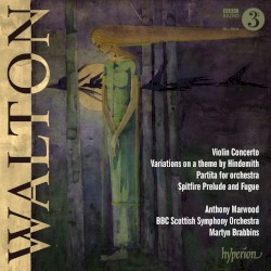 Violin Concerto / Variations on Theme by Hindemith / Partita for Orchestra / Spitfire Prelude and Fugue by Walton ;   Anthony Marwood ,   BBC Scottish Symphony Orchestra ,   Martyn Brabbins