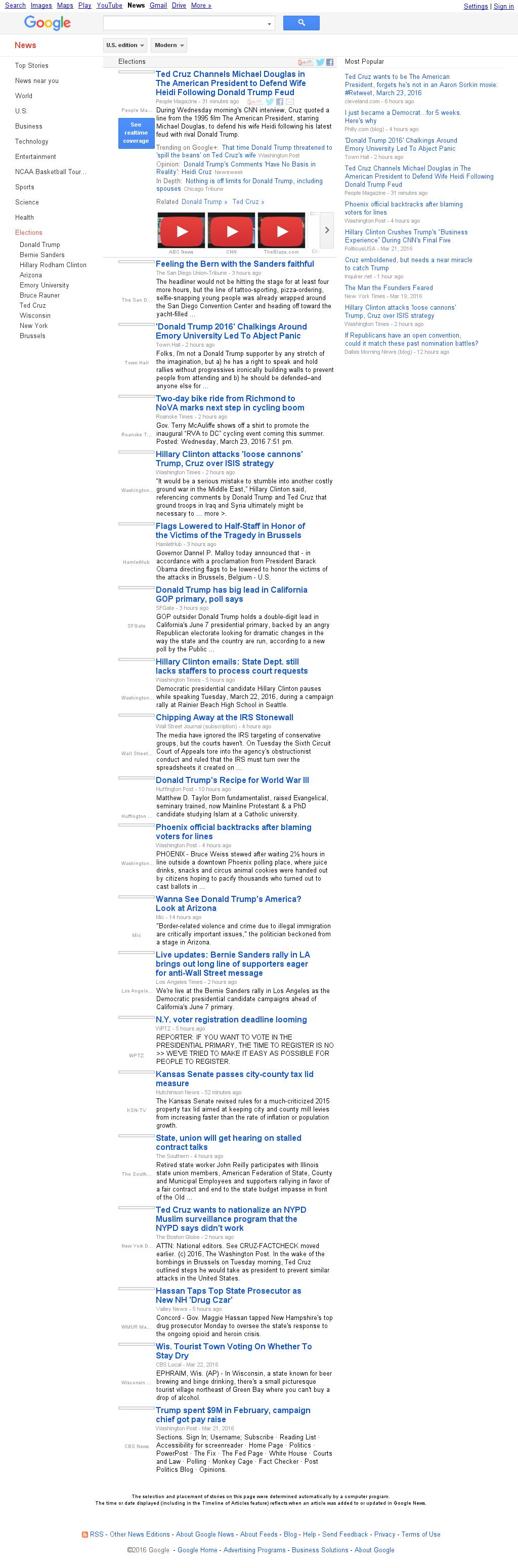 Google News: Elections at Thursday March 24, 2016, 4:06 a.m. UTC