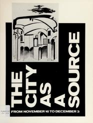 Cover of: The City as a source | Kennedy Galleries (New York, N.Y.)