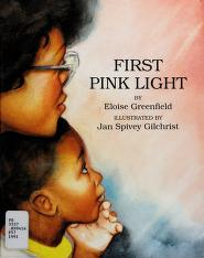 Cover of: First pink light   Eloise Greenfield