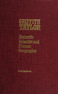Cover of: Griffith Taylor | Marie Sanderson