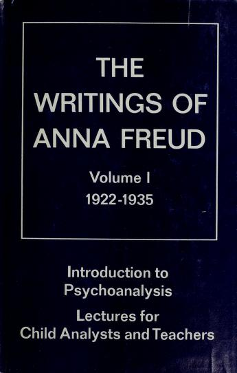 Introduction to psychoanalysis by Anna Freud