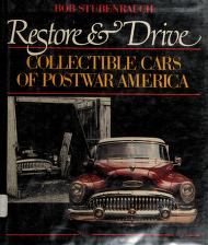 Cover of: Restore and drive | Bob Stubenrauch