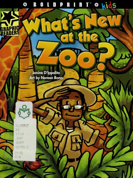 What's new at the zoo? by Janine D'Ippolito